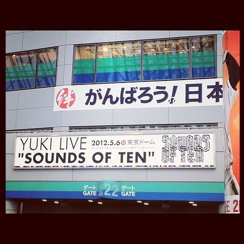 YUKI(40)のライブに行ってきたよ。…あれで(40)か…凄すぎる…