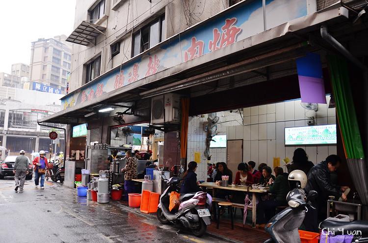 [台北]南門市場。金峰魯肉飯,獨道人氣之傳統好味魯肉飯