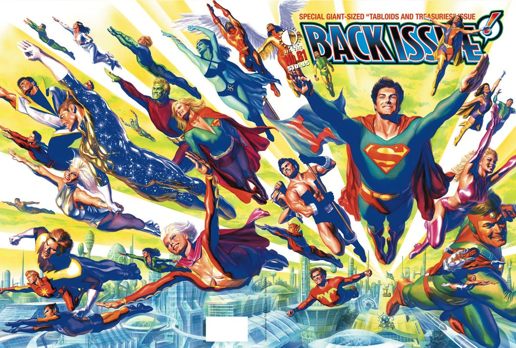 Back Issue 61: Legion of Super-Heroes - Alex Ross