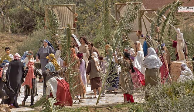Llegada a Jerusalén