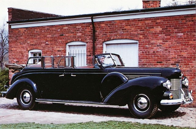 """1939 Lincoln """"Sunshine Special"""" Presidential Limousine"""