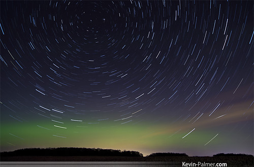 Aurora and Startrails