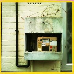 Gas meter, Belsize Rd