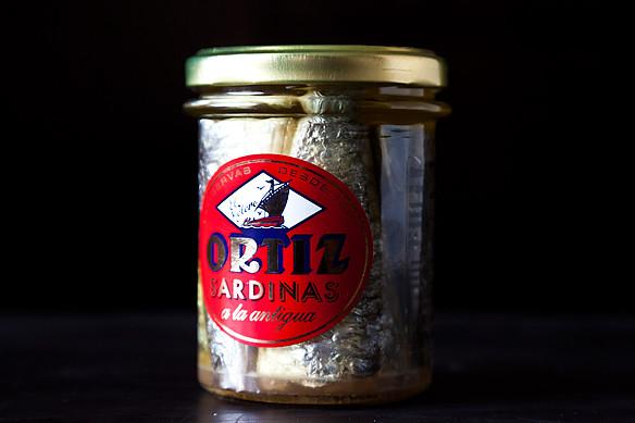 jar sardines