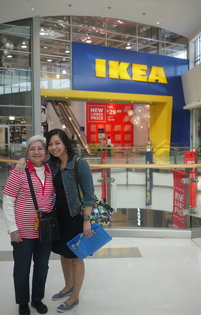IKEA with Mum