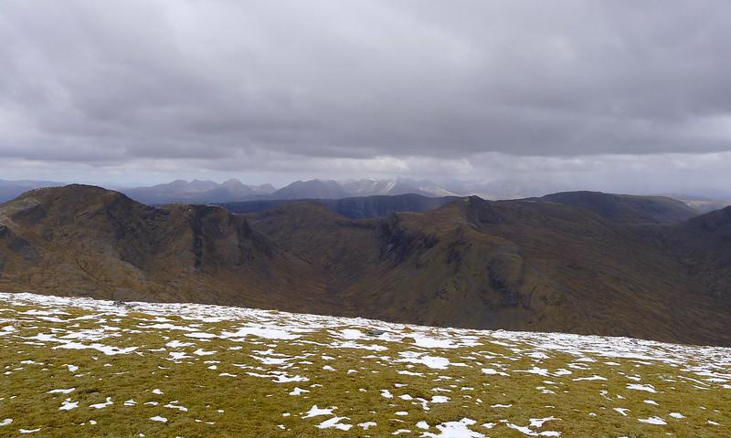 Torridon Hills beyond Beinn Tharsuinn