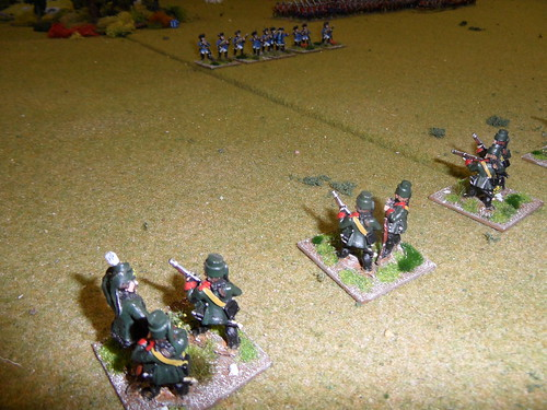 Skirmishers duel