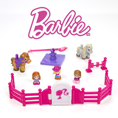 Squinkies Barbie Equestrian Set