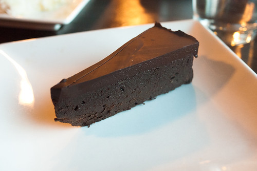 Flourless Chocolate Cake @ Gravity Espresso & Wine Bar