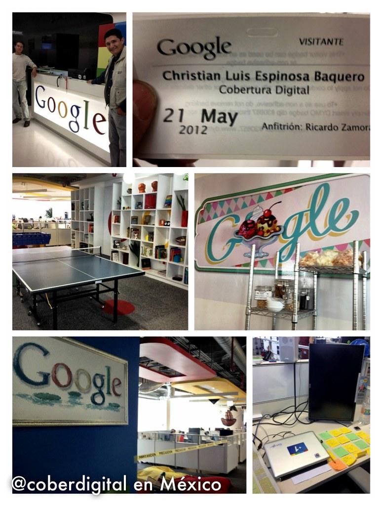 Visitando Google México!