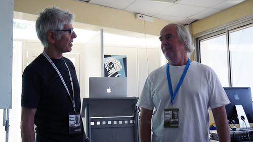 Bob Isherwood and Patrick Collister