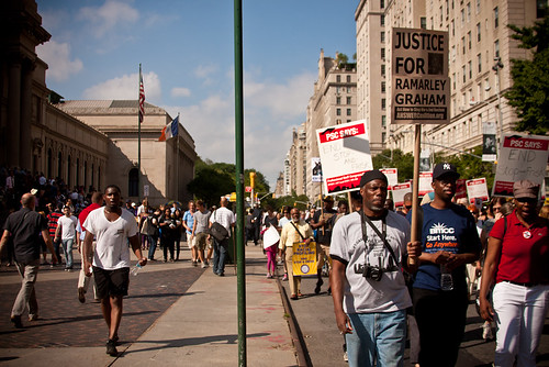 Silent March Against Stop and Frisk-80
