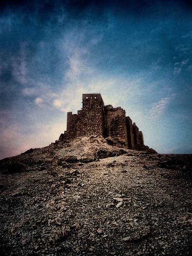 sunset nature landscape desert syria haji sham hussam hussamhajibakr