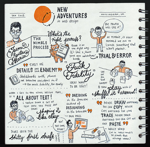 Jason Santa Maria: The Nimble Process @ New Adventures 2013