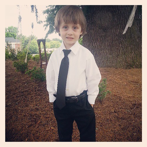 Cutest ring bearer EVER!!