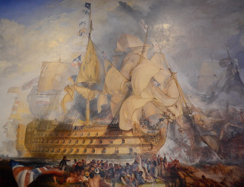 J.M.W. Turner - The Battle of Trafalgar