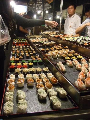 寿司とかー