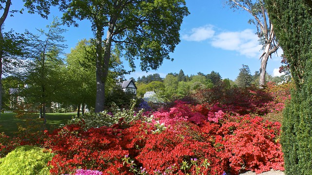 Bodnant Garden, North Wales, UK