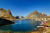 Lovely little village of Reine, Lofoten