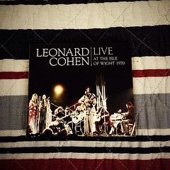 I found it while packing! I thought I had lost it in #Leipzig! I am so happy I found my #LeonardCohen !!! #1970