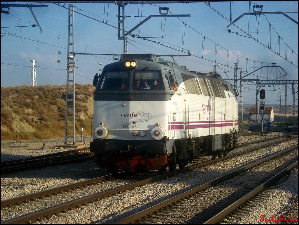 Circulaciones Especiales, Locomotoras de Renfe Integria 8840797739_fbe69083cc_b