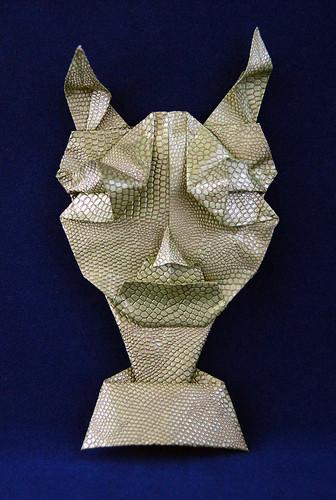 Origami Pan Mask (Toyoaki Kawai)