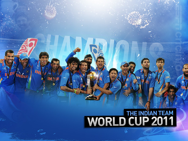 World Cup 2011 champions