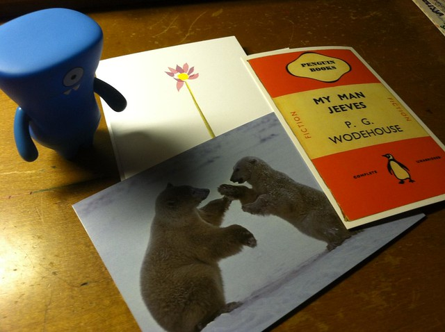 Wodehouse, Bears, and a Flower