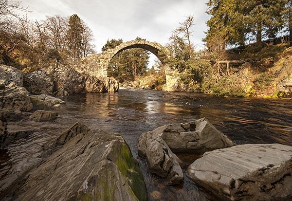 Carrbridge - Ancient Highland Bridge - Scotland