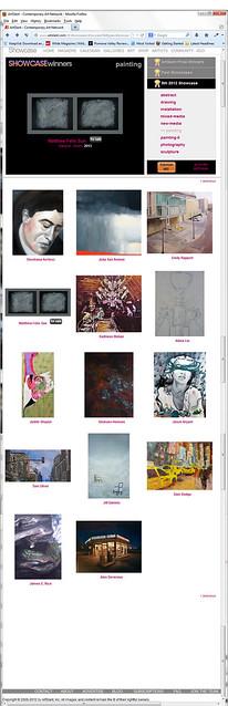 ArtSlant Screenshots - Diptych - Dawn