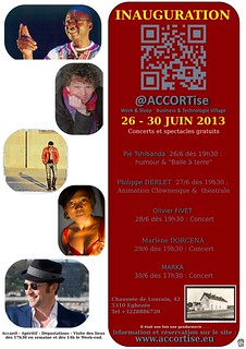 Inauguration ACCORTise   26 -30 Juin 2013