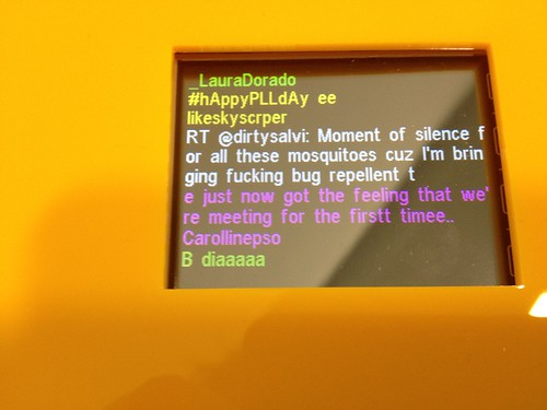 Tweets from Rio de Janeiro while I install @lapanace