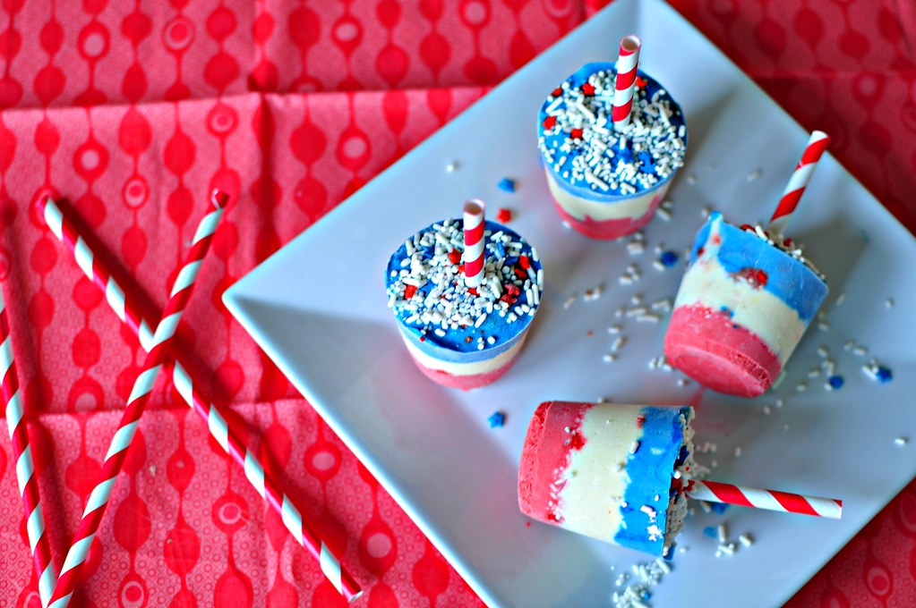 4th of July Pudding Pops 5