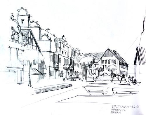 Stadthagen Marktplatz