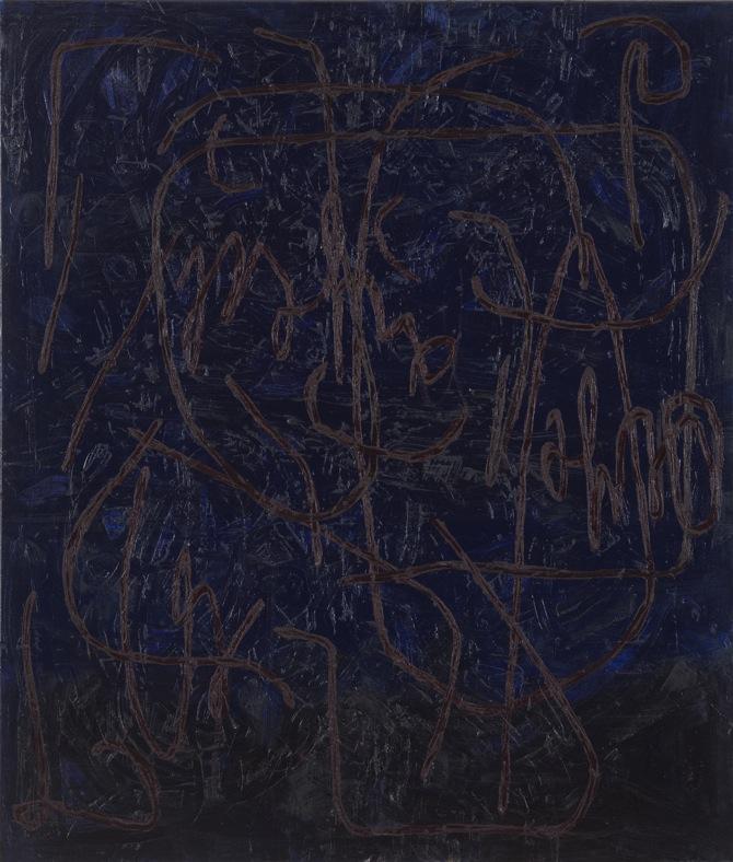 10 Jana Schröder, Spontacts, Ö6, 2012, 135 x 105 cm, Öl auf Leinwand, 2012