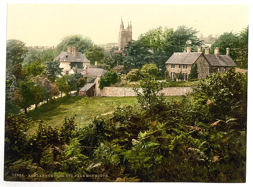 [Vicinity of Newland Church, Monmouth, Wales]  (LOC)