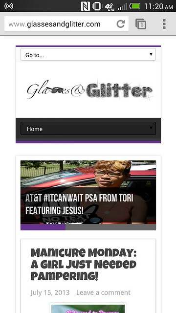 responsive-theme-glassesandglitter-tech