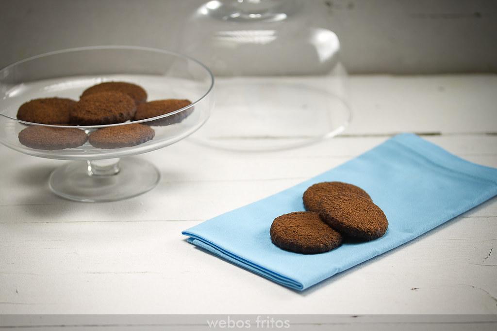 Galletas de chocolate sin huevo
