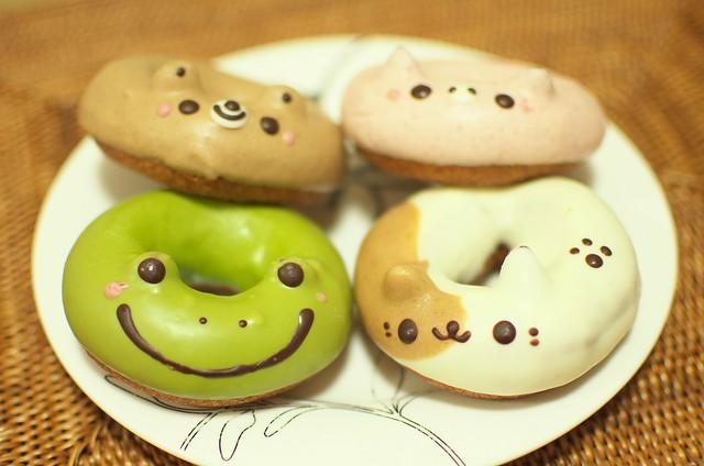フロレスタのどうぶつドーナツ Animal Donuts