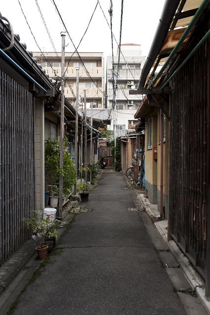 京の路地裏