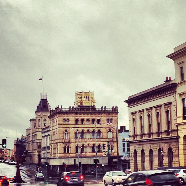 Downtown Ballarat.