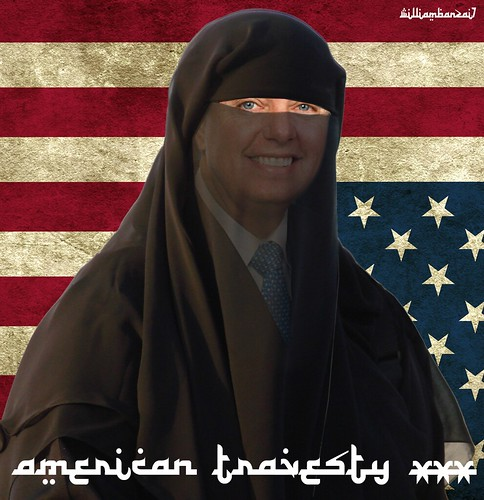 AMERICAN TRAVESTY XXX by WilliamBanzai7/Colonel Flick