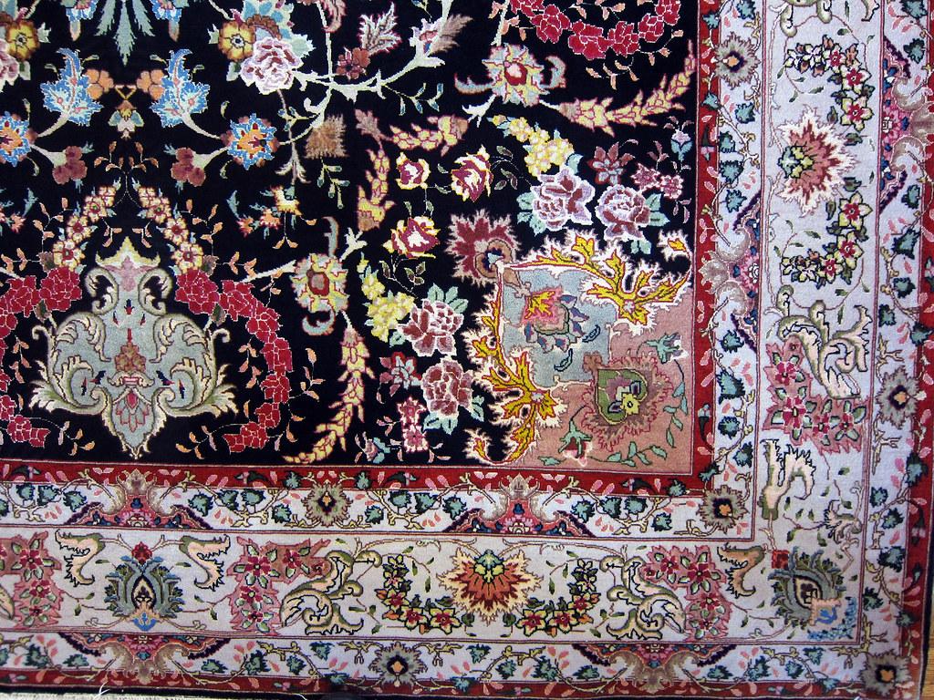 Shirfar Black Persian Area Rug