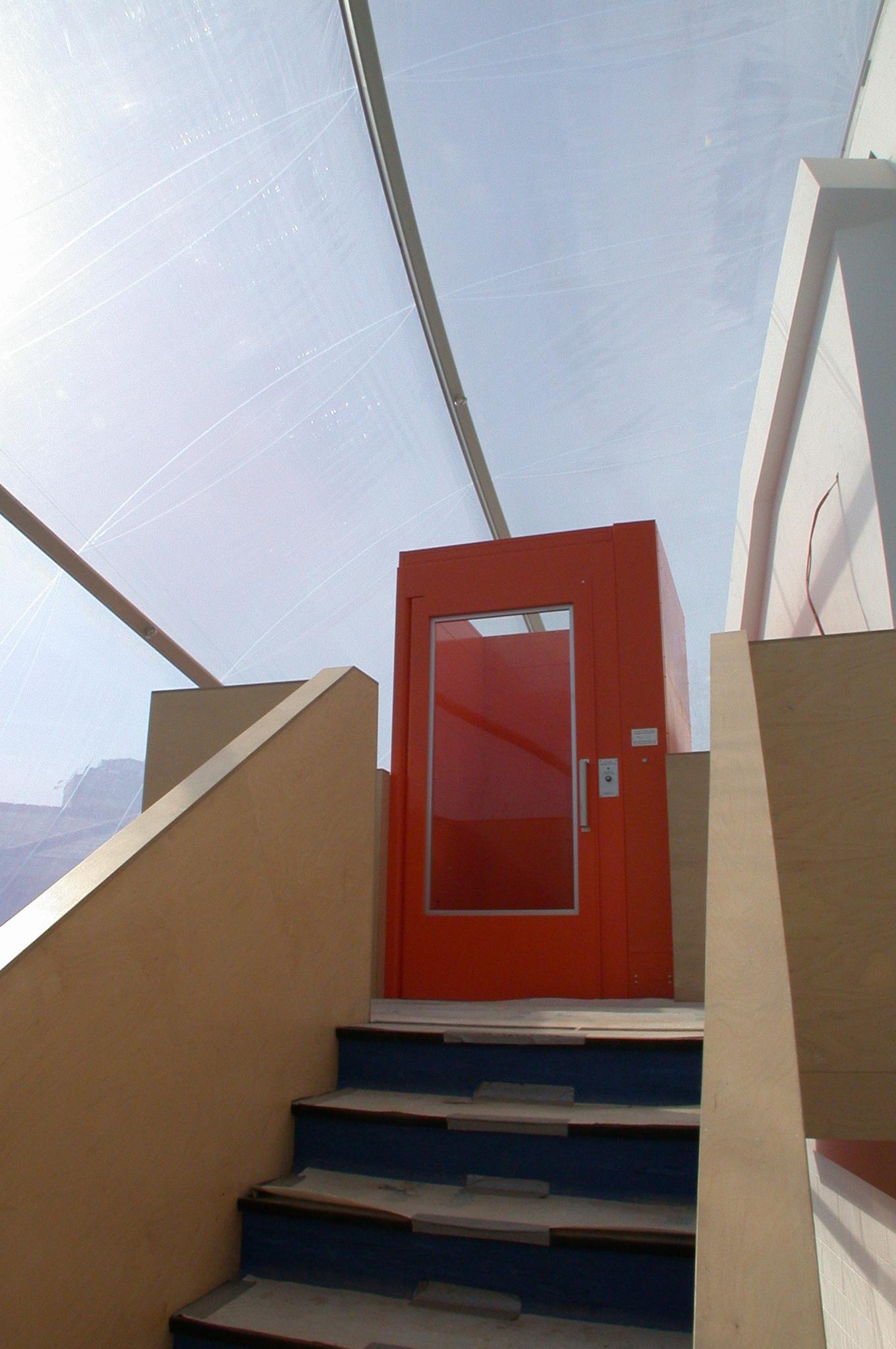 Modern ETFE Roof