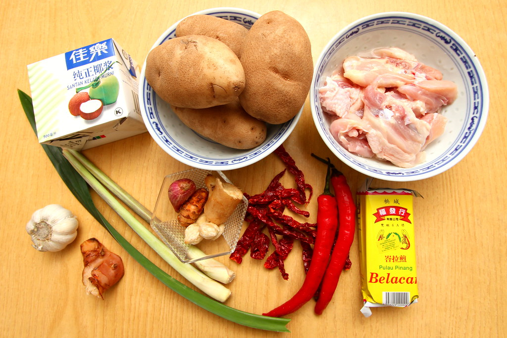 Nonya Chicken Curry: Preparing Nonya Chicken Curry