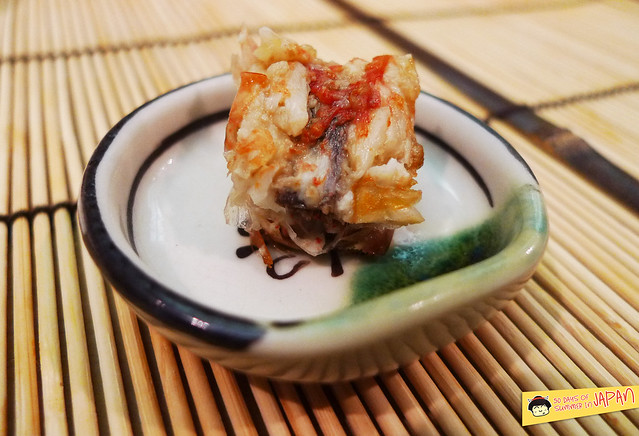 Sushi Sho - Tokyo - Bota prawn head