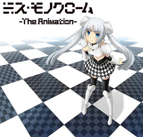 130826(1) - 聲優「堀江由衣」親自設計二次元美少女《Miss Monochrome》將從10/1放送5分鐘電視動畫版!
