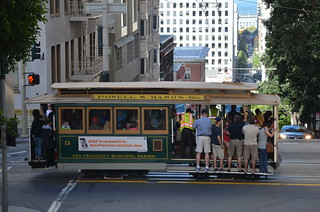 MUNI Powell Mason Line - San Francisco - Powell and Sacramento - August 16, 2013  (2)