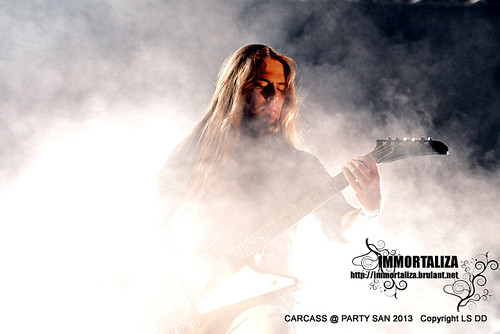 CARCASS @ PARTY SAN OPEN AIR 2013 SCHLOTHEIM, Germany 9631678622_a7c8e1654b