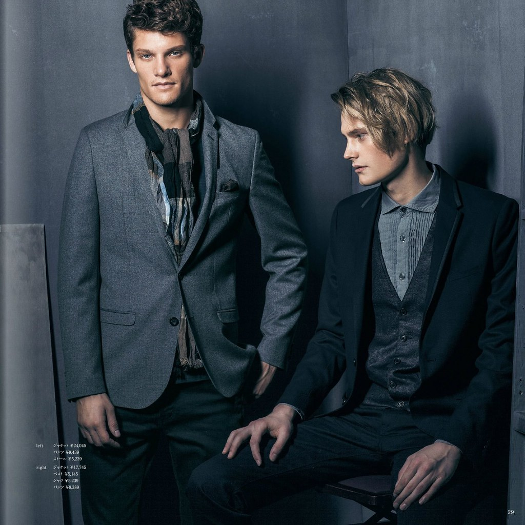 m.f.editorial Men's Autumn Collection 2013_008Danny Beauchamp, Kye D'arcy